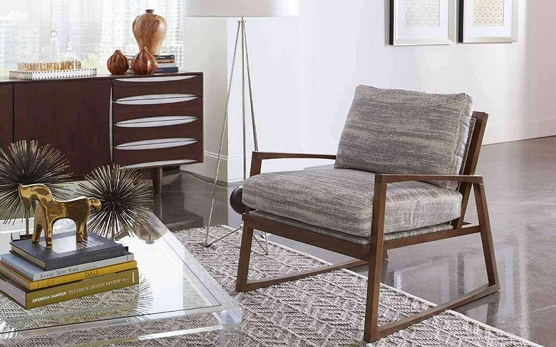 all wood accent chairs
