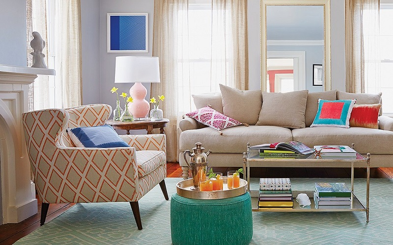 apartment size accent chairs