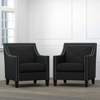 black accent chairs under 100 dollars