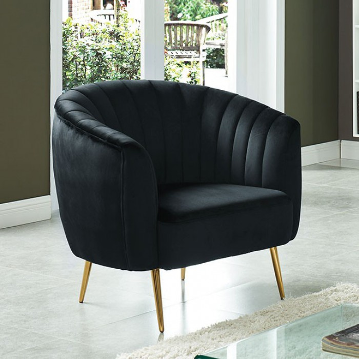 black accent chairs under $100