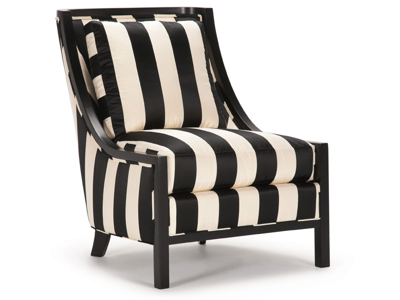 black and white accent chairs