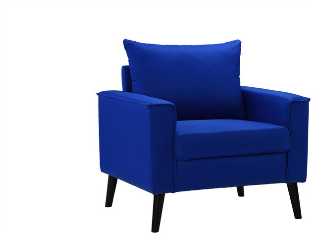 royal blue accent chairs
